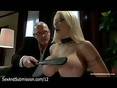 Blonde, Husband, Big Tits, Latex fetish huge cock