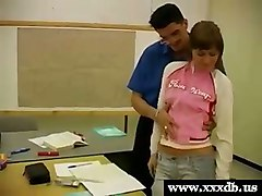 Russian student fucked by teacher