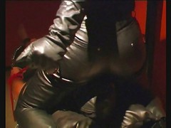 Panties, Leather, Facesitting, Mistress in leather