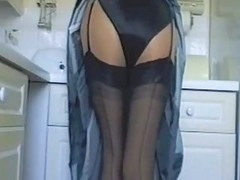 Black, Kitchen, Satin, Satin and lace 2