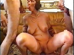 French, Group, Milf, German group matures
