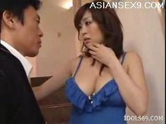 Asian, Japanese, Big Tits, Japanese moms