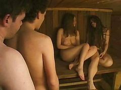 Russian, Sauna, Russian party sauna